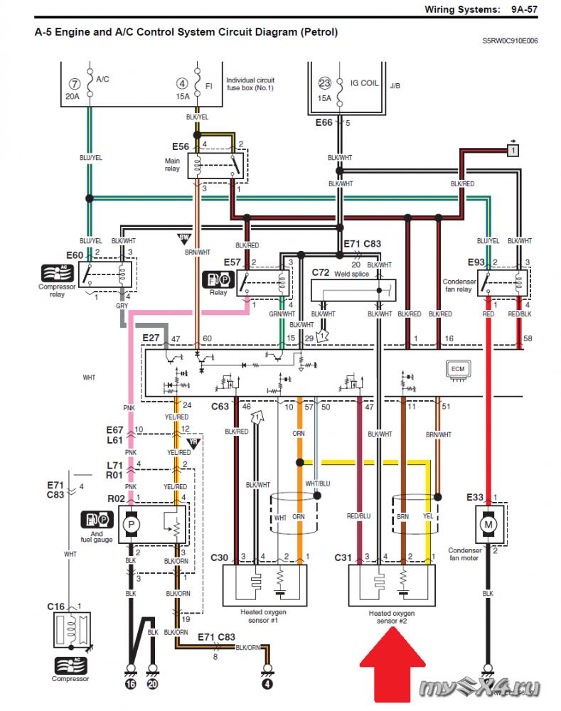 Электрическая схема лямбда зонда фото 909